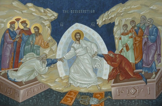 Holy Saturday — And he descended...