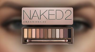 Maquillagem - Naked palete de sombras para os olhos