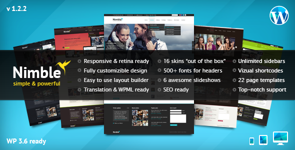 Premium Responsive Multipurpose WP Theme