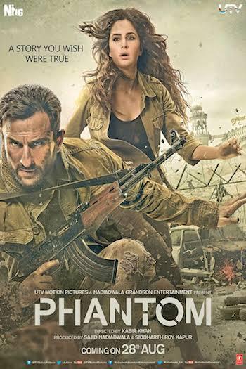 Phantom 2015 Hindi DTHRip XviD 700mb