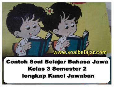 Kunci Jawaban Bahasa Jawa Kelas 3 Guru Galeri
