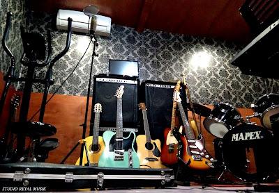 studio rekaman / recording murah di jakarta dan les / kursus musik