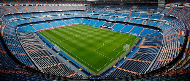 Estádio Real Madri em Madri