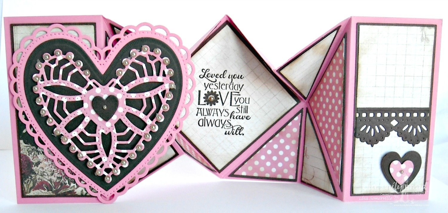 Stamps - Our Daily Bread Designs Love You Bunches, ODBD Custom Ornate Hearts Die, ODBD Beautiful Borders Dies