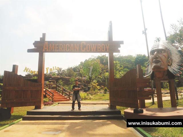 American Coboy ( Kolam Olympic) Santasea Waterpark Sukabumi