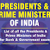 List of All Presidents and Prime Ministers of India in PDF
