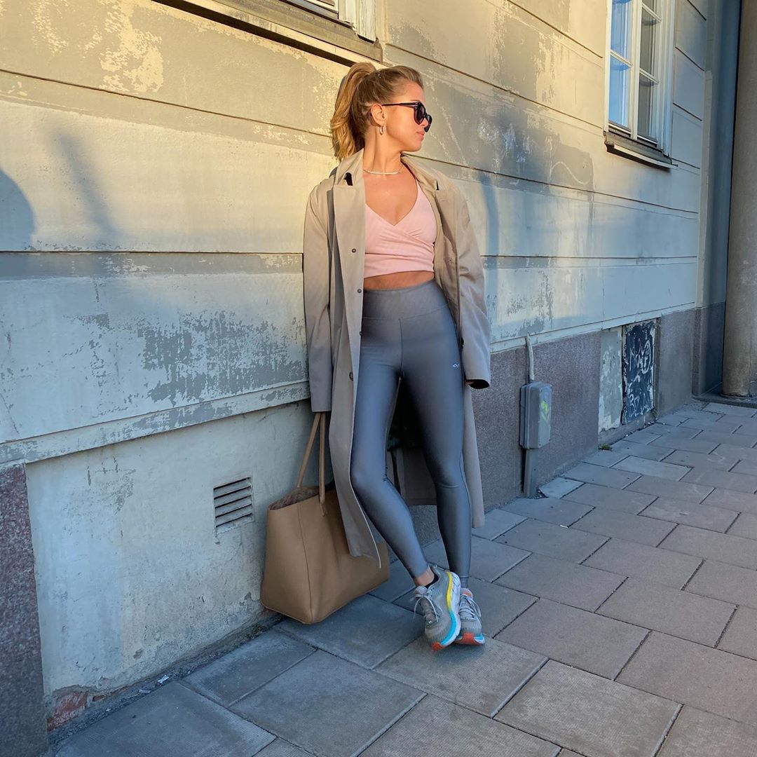 We Love This Influencer's Elevated Activewear Look