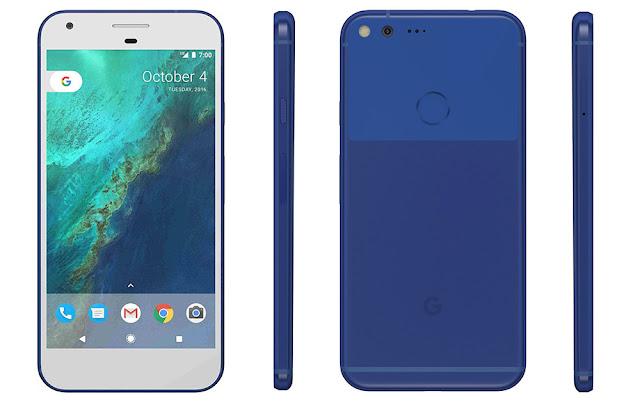 Google Pixel XL Full Spesifikasi dan Harga Terbaru, Android Naugat dengan mengusung spek tangguh