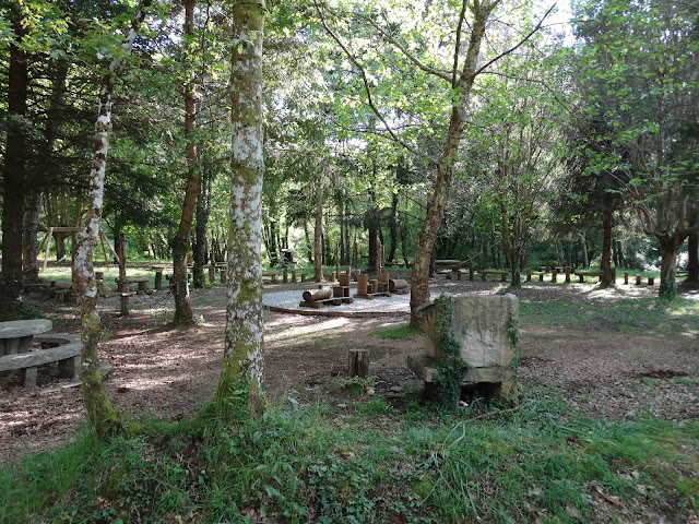 Área recreativa de Reboredo en Oza-Cesuras