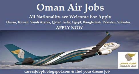 Oman Airline Cabin Crew jobs 2016