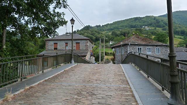 Puente medieval en Cecos - Asturias