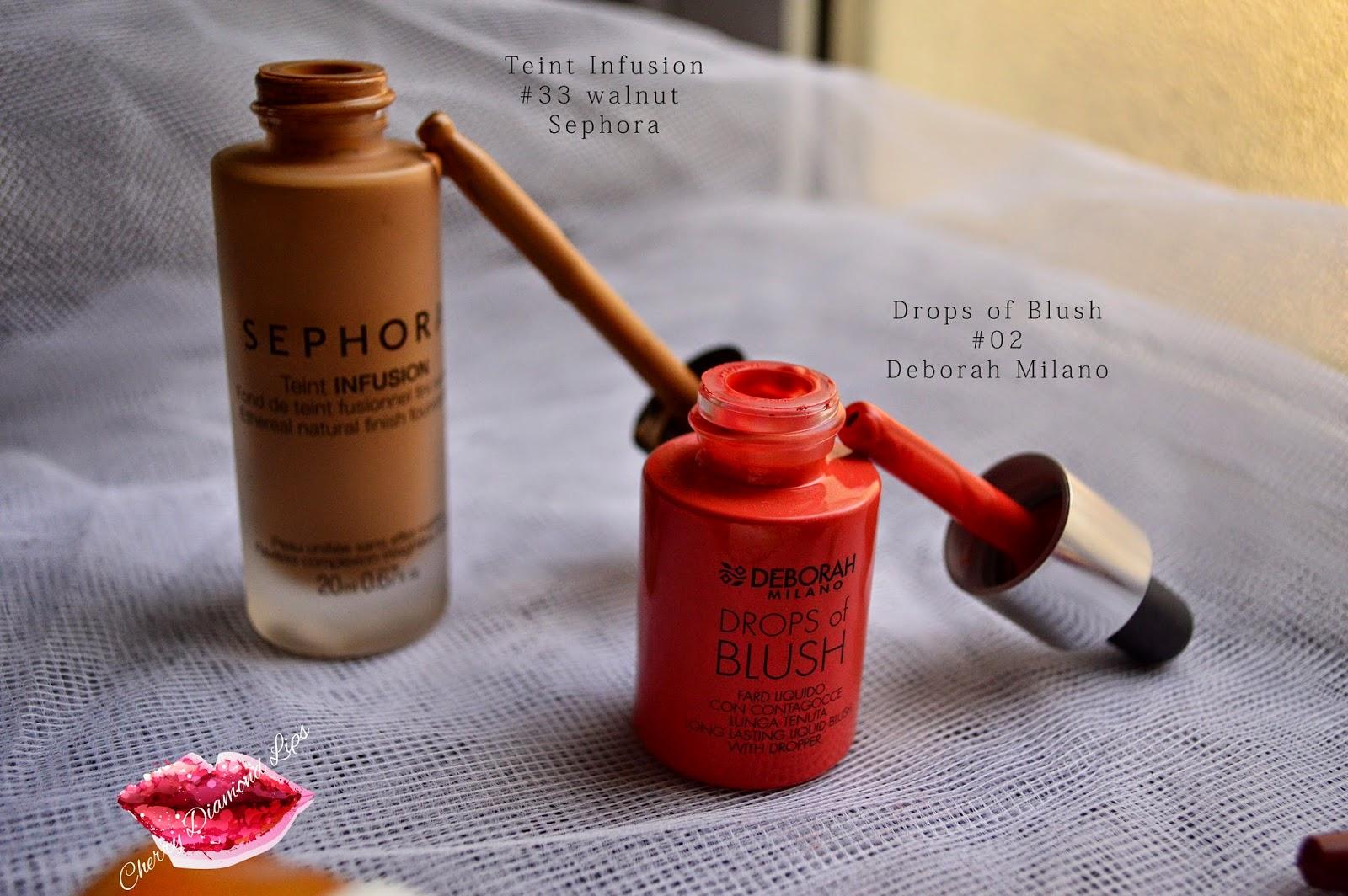 Teint Infusion Sephora, Drops of Blush Deborah Milano