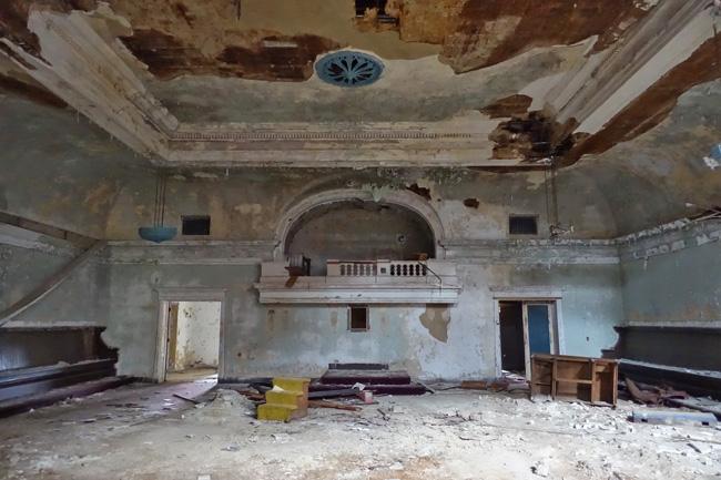 Secrets of an Abandoned Masonic Temple