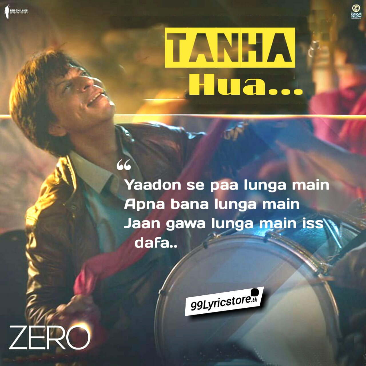 Tanha Hua Lyrics – Zero | Rahat Fateh Ali Khan | Shahrukh Khan, Zero movie Song Lyrics 2018, Zero movie Song Lyrics, Tanha Hua Zero Lyrics, Tanha Hua Song Lyrics Zero, Tanha Hua Zero movie Song Lyrics, Shahrukh Khan Zero movie Song Lyrics, Latest Song Lyrics, Latest Bollywood Movie Song Lyrics, Zero Movie Song images, Tanha Hua Images
