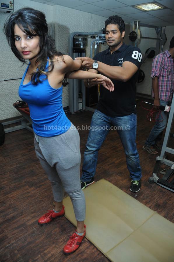 Rashaana Shah at Fitness GYM