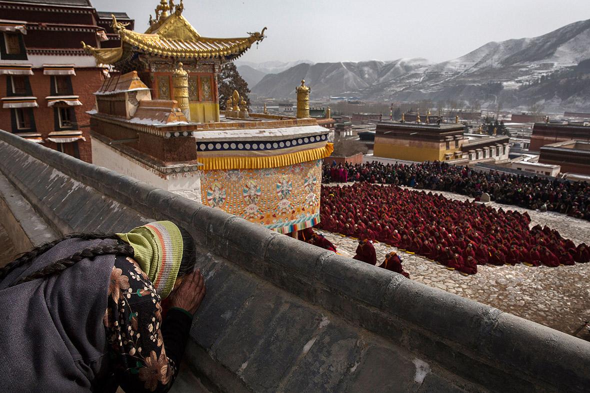 Manasteries in Tibet