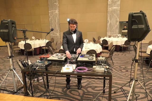 DJ YASU リハーサル模様