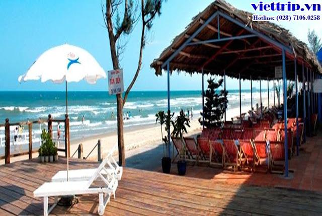 Paradise Vũng Tàu có cả bãi tắm riêng cho du khách lưu trú