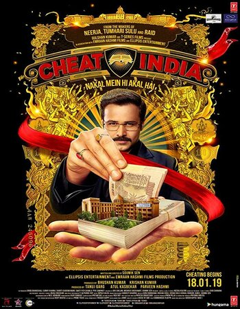 Why Cheat India (2019) Hindi ORG 480p HDRip x264 300MB ESubs