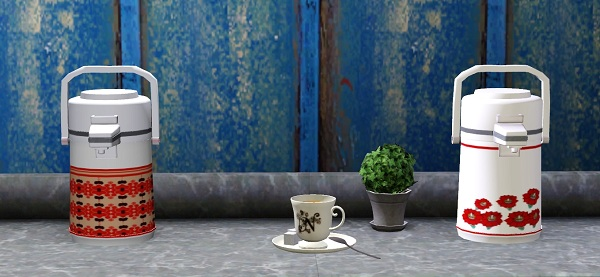 My Sims 3 Blog Retro Thermos Coffee Maker By Kimu412