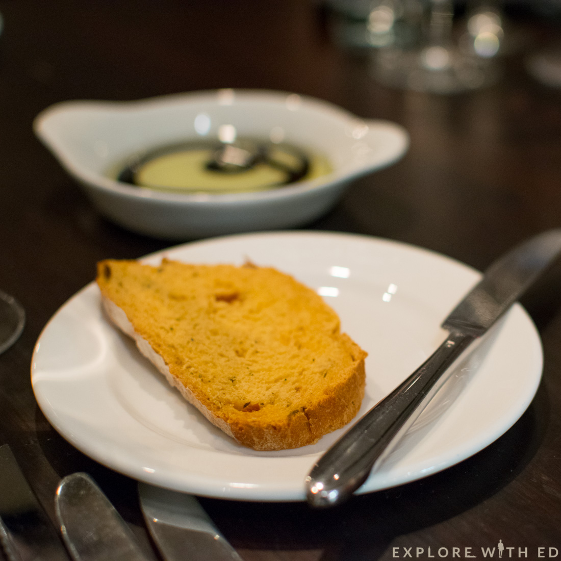 Tomato Bread and Dip, Laguna Kitchen & Bar