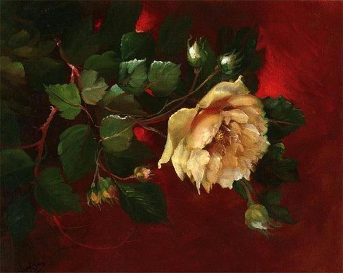 Цветочные картины. Gary Jenkins 11