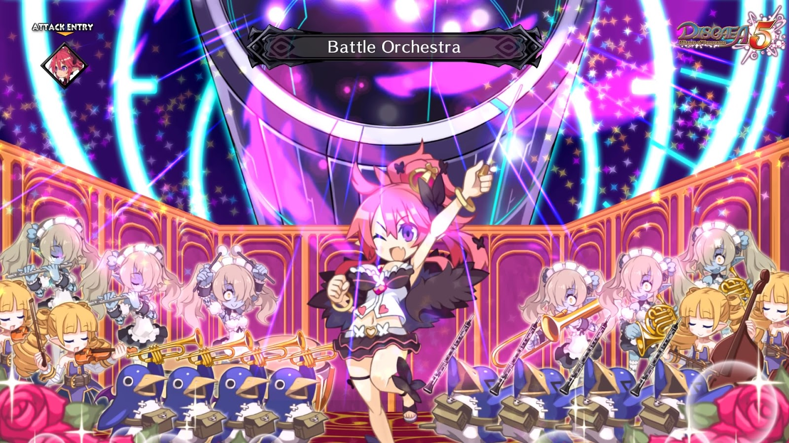 And if I can CRTL + B right here, I will say that Disgaea 5: Alliance of  Vengeance might possibly be my favorite one since the first, if not overall.