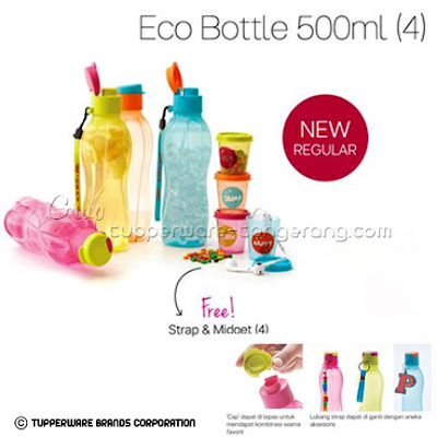 Eco Bottle 500ml ~ Katalog Tupperware Promo Mei 2016
