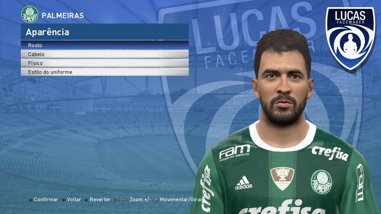 PES 2017 Luan (Palmeiras) Face by Lucas Facemaker