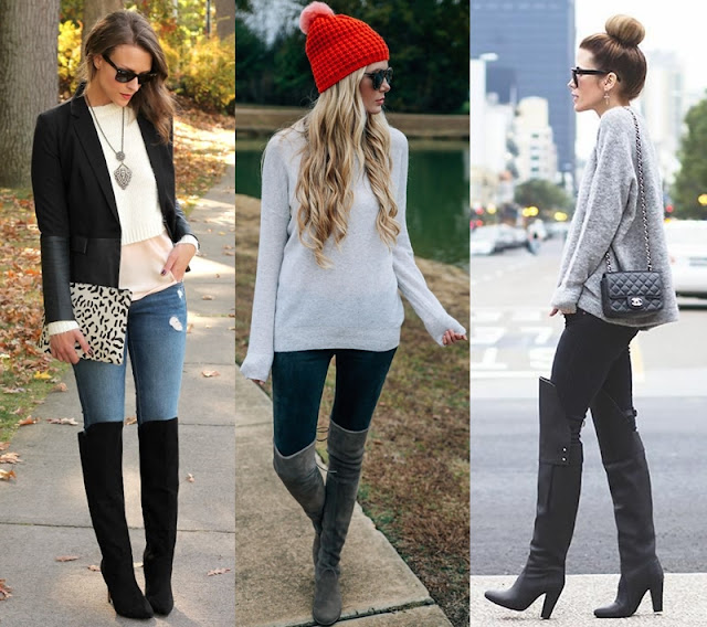 moda botas over the knee