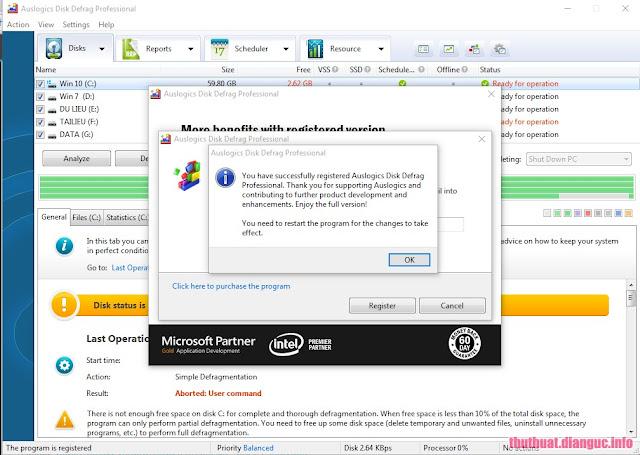 Auslogics Disk Defrag Pro V4.7.0 Universal Keygen Is Here