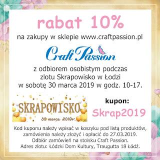 https://craftpassion-pl.blogspot.com/2019/03/skrapowisko-30032019-odz.html?fbclid=IwAR1O74wlX9CtdCPx8R6OoUKp5_dDfr1kl5jHrs5bG9ypUiQTsUzpsltc6b8