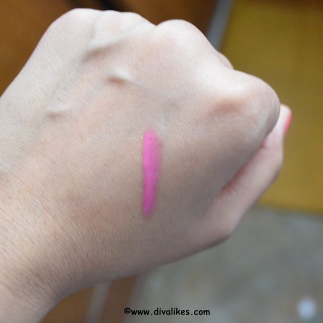 L.A. Colors Lip Gloss Paradise Pink Swatch