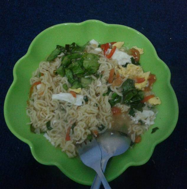 Resep indomie sayuran ala rumah makan ciwidey