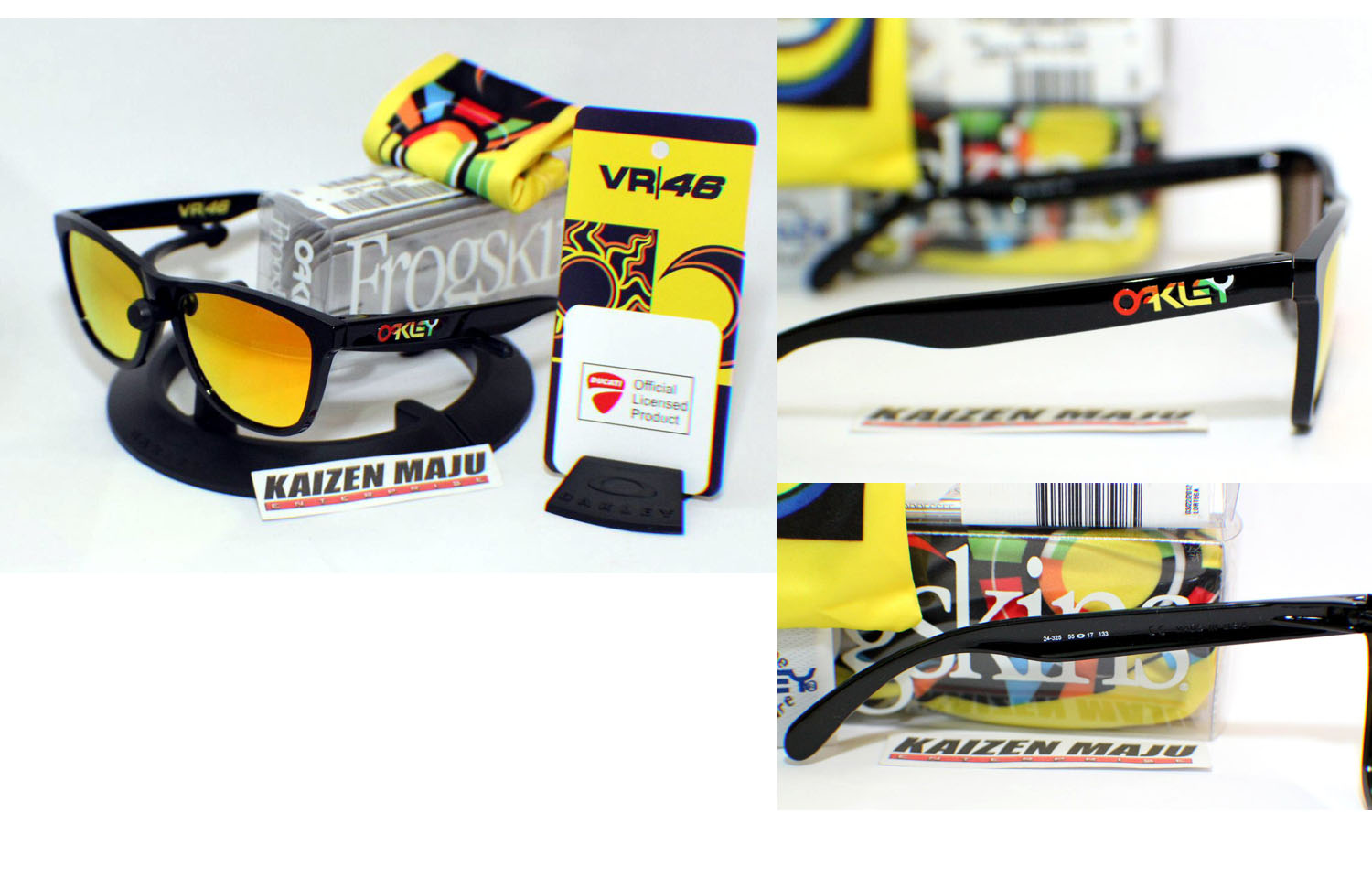 ac94281280 Oakley Frogskins Vr46 Limited Edition marketing-yourself.co.uk