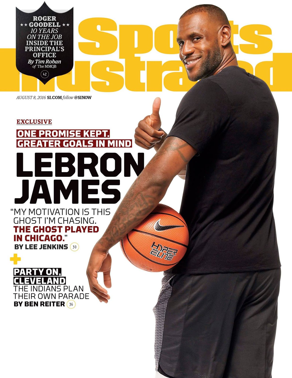Crazy cool groovy!!!: lebron james on sports illustrated mag!!!