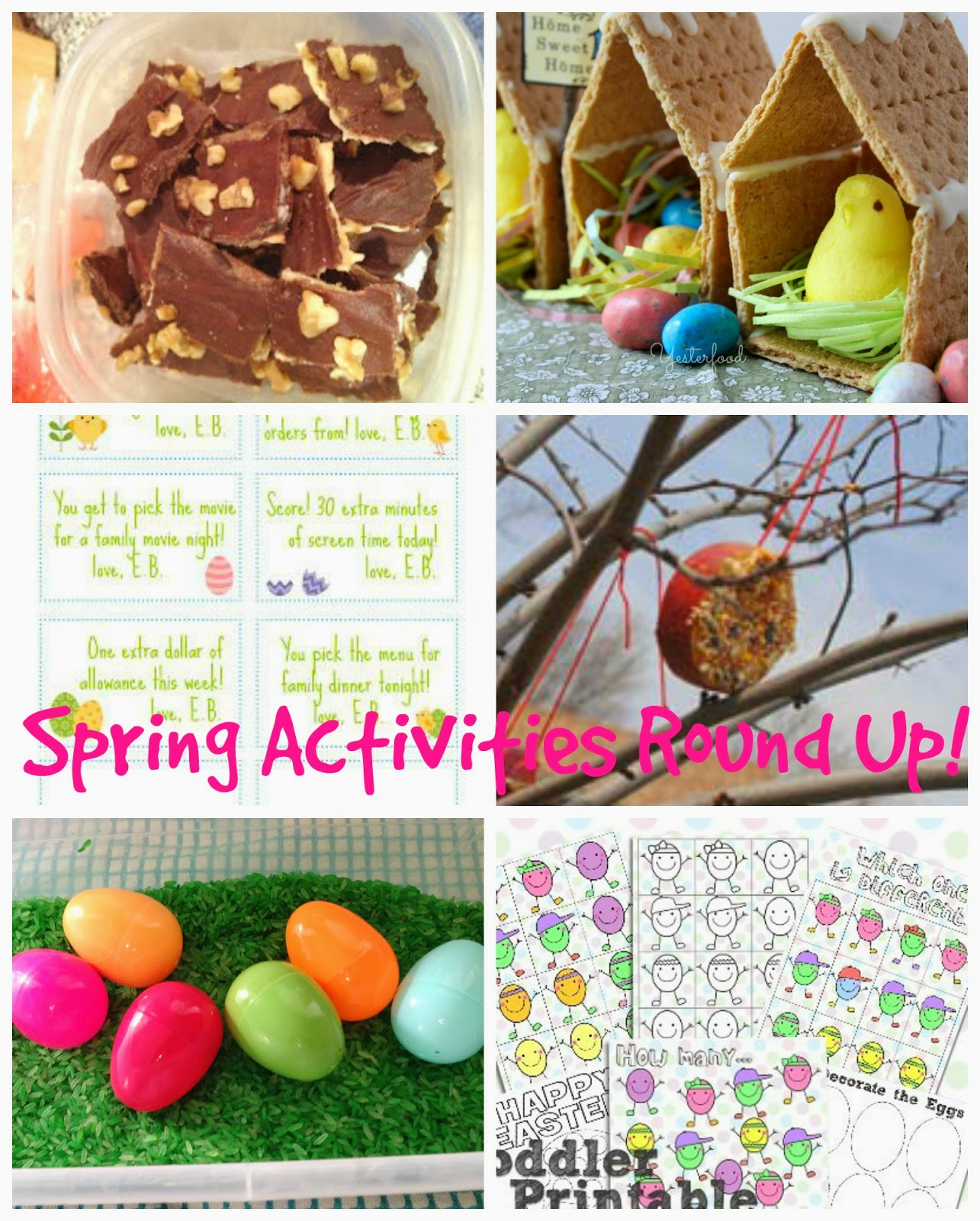 Kid Friendly Spring Activities and Recipes @blogginginpa