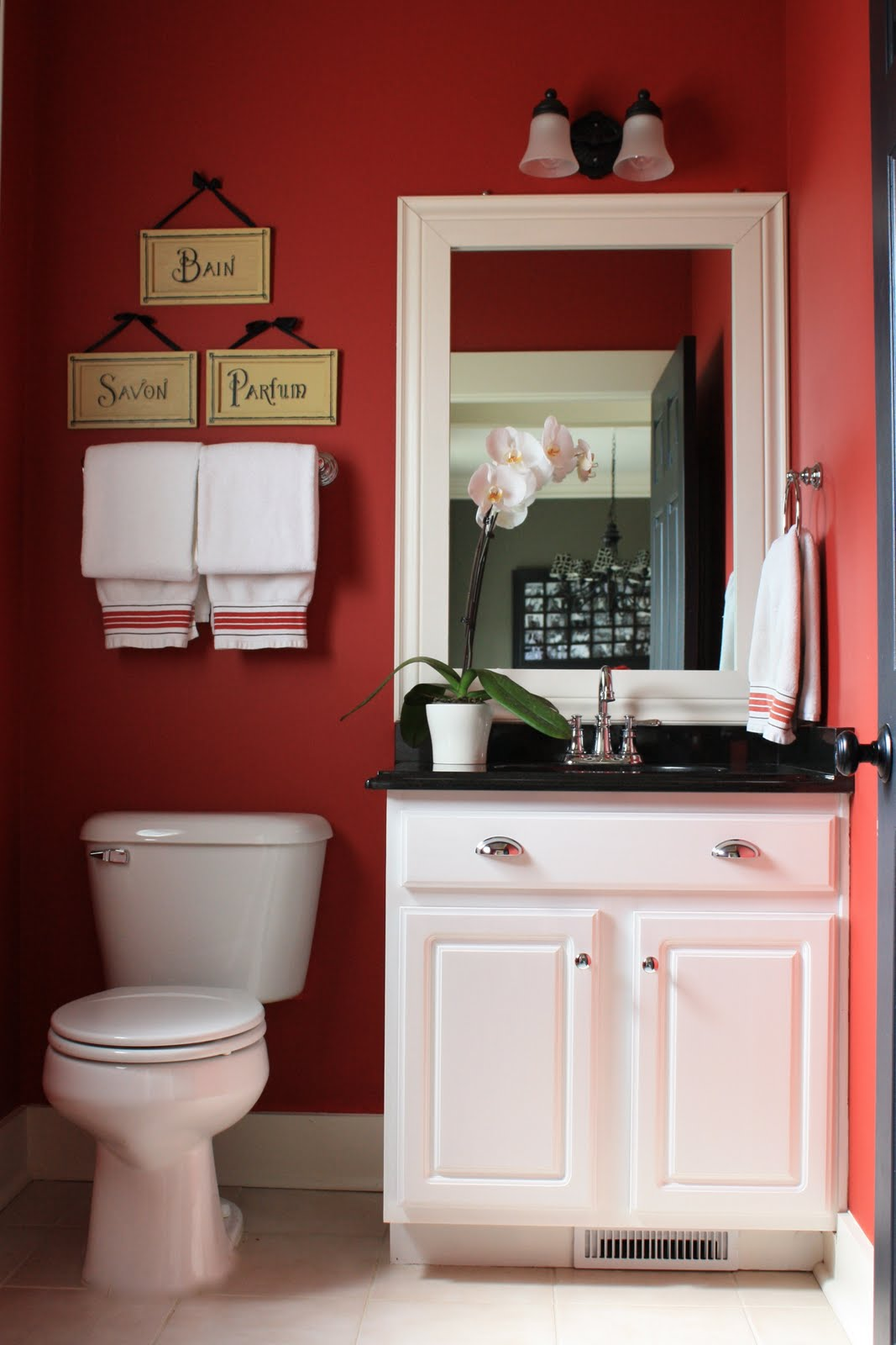 Budget Friendly Builder Bathroom Makeover