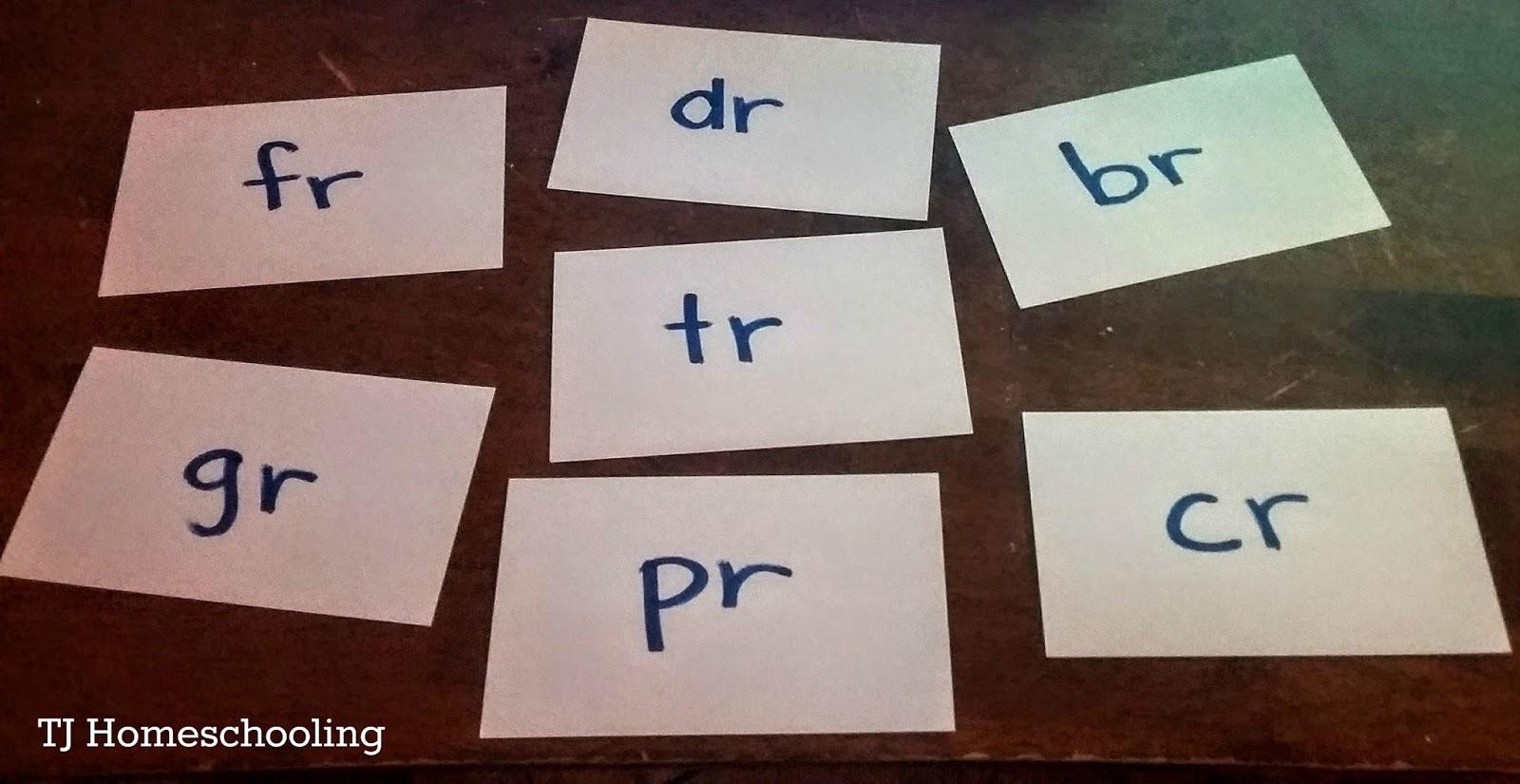 Beginning R Blends Br Cr Dr Fr Gr Pr Tr