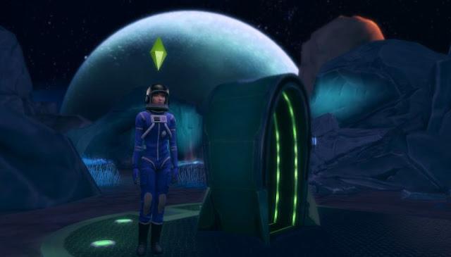 ท่องสู่อวกาศ กับ The Sims 4 Get to work