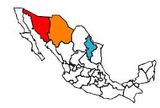 Mexican states we have visited
