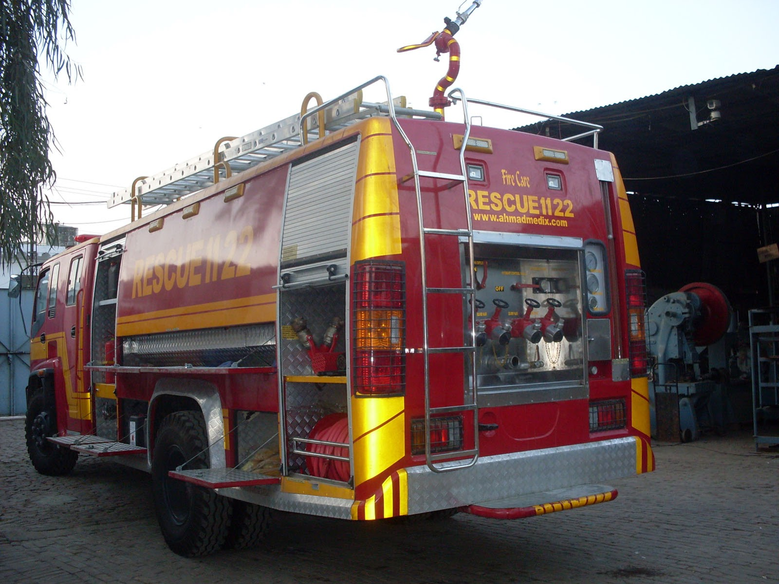 Ahmad Medix (Life Care): PTO SYSTEM OF FIRE TRUCK