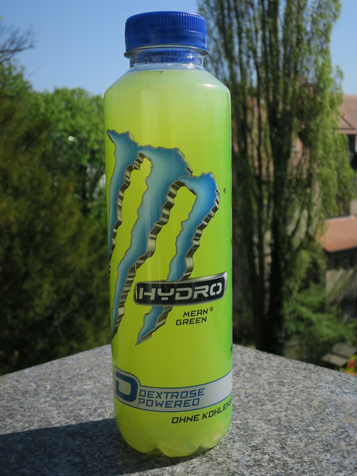 Energy Plattform: Monster Energy - Hydro Mean Green