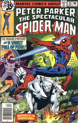 Spectacular Spider-Man #25, the Masked Marauder