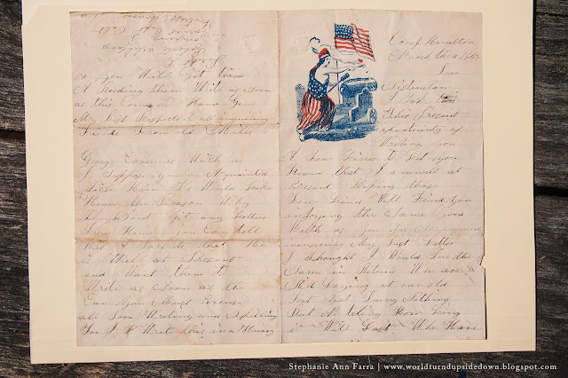 Civil War Era Letter and Envelope Templates for Reenacting | World Turn'd Upside Down