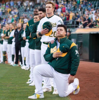 Bruce Maxwell Parents Race Salary Kneeling During National Anthem