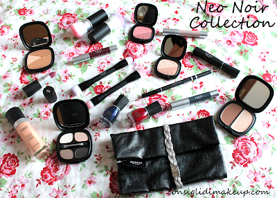 Review & Swatch: Collezione Neo Noir - Kiko Cosmetics
