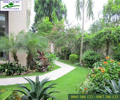 Thiết kế sân vườn đẹp