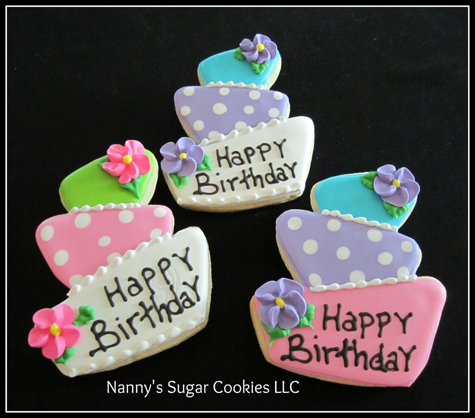 Nanny's Sugar Cookies LLC: Birthday Cookie Favors