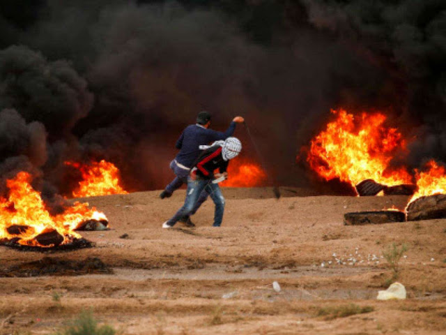 Four Palestinians killed by Israeli fire in border clashes: Gaza ministry